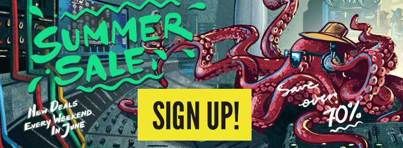 Summer Sale: New deals every weekend in June. Sign up today!