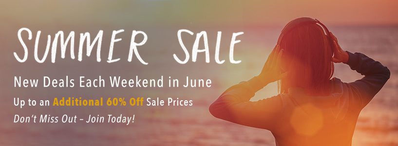 Summer Sale Join Page Banner