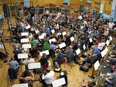 Ochestral Session at Abbey Road Studio 1