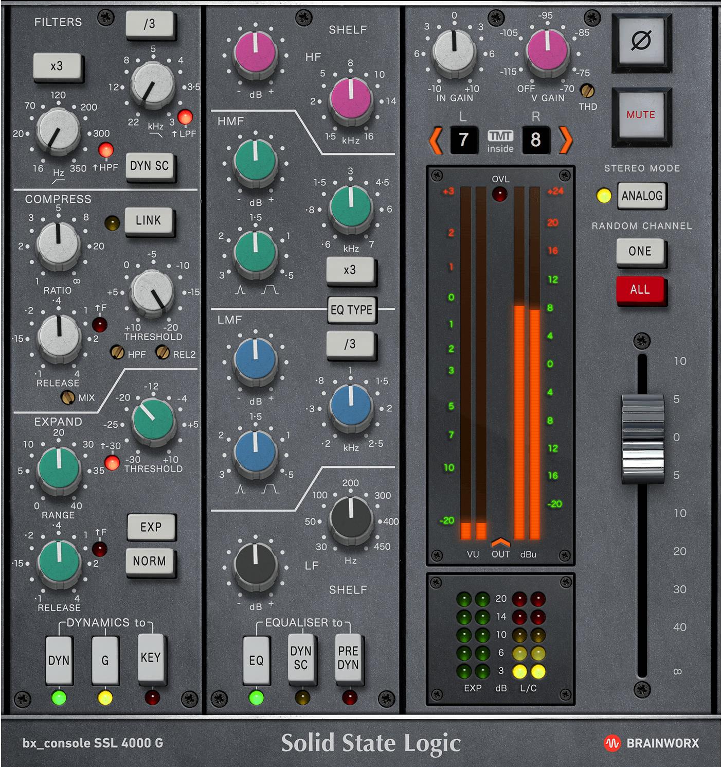 bx_console SSL 4000 G